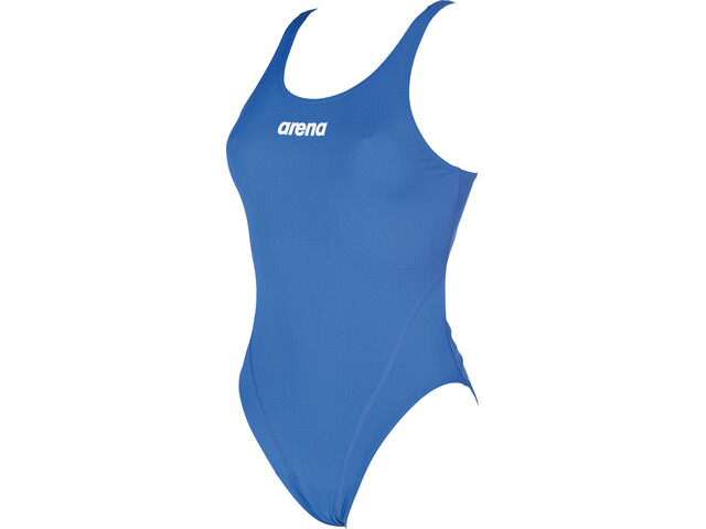 arena Solid Swim Tech High Badedragt Damer, royal-white